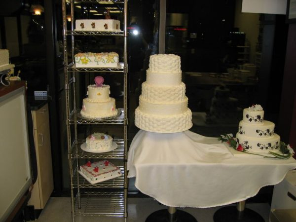 The Makery Cake Company Decorators Area