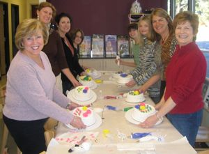 Ladies Night Cake Decorating Party
