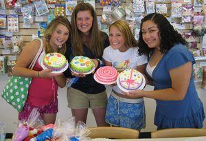 Cake Decorating Parties