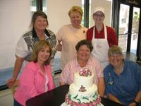 Group Cake Decorating
