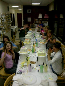 Cake Decorating Classes Near Thornton : Can I get a Hiy-yaah!?! - The Makery Cake Company