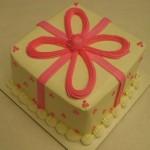American Girl Package Cake