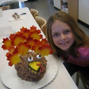3D Turkey Cake