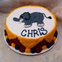 Circus Cake Party Theme