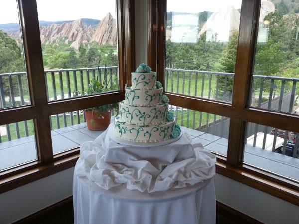 The Makery Cake Company Littleton Co Wedding Cake