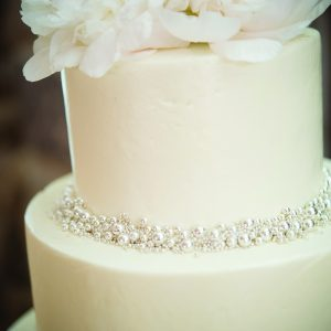 Gold Silver Wedding Cakes