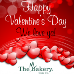 Valentine's Day The Makery Cake Co