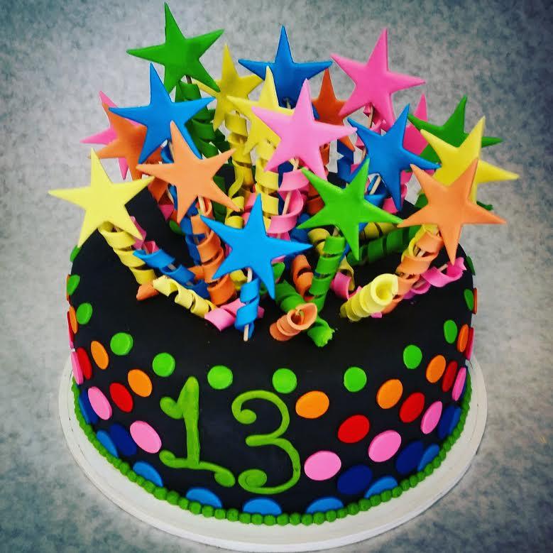 Star Birthday Cakes Archives The Makery Cake Company