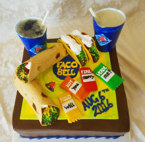 Taco Bell Cake
