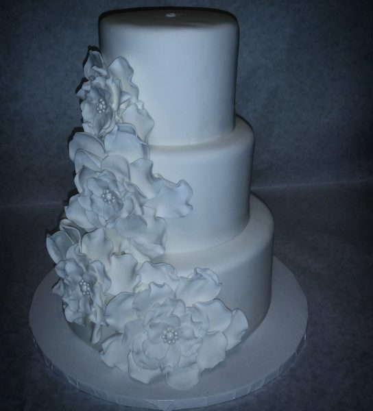 Its A Nice Day For White Wedding Cake