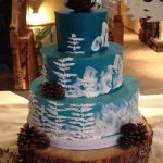 rustic colorado cake