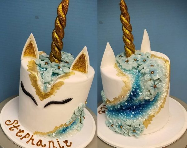 You Tube Unicorn Cake