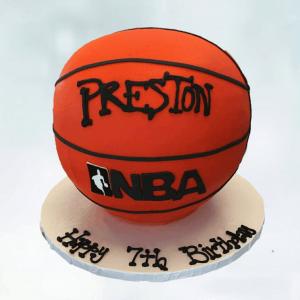 Basketball Cake in Denver