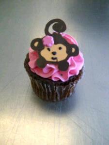 Cake Ninja Katie strikes again with her Monkey Cupcakes.