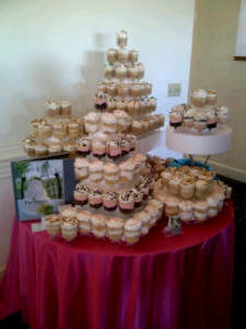 Wedding Cake Cups