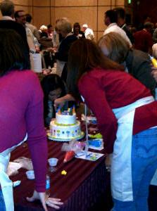 cake decorating team builder