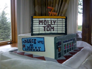 Molly and Tom didn't want just any old cake