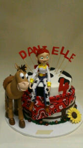 Jessie Birthday Cake