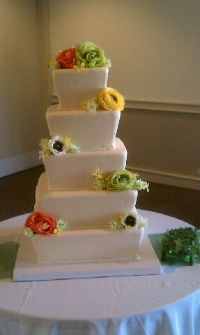 Beautiful Tapered Cake