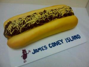 Denver's Coney Dog Groom's Cake