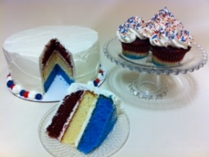 4th of July cakes in Denver
