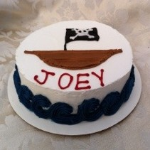 Pirate Cake Decorating Party Theme for Boys in Denver