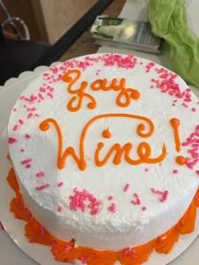 Water to wine cake 3