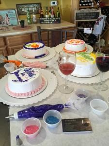 Water to wine cake 5