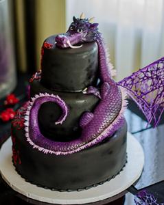 Makery Cake Co Dragon Cake