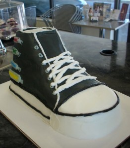 Makery Cake Co shoe cake