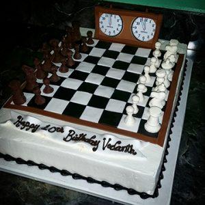 Checkmate cake