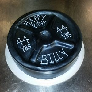 Weights cake