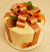 Autumn Package Cake