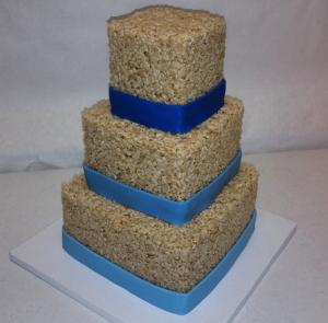 Rice Krispie Cake