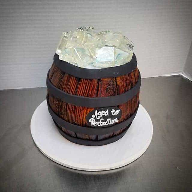 The Makery Cake Company - 21st Birthday Barrel of Beer Cake