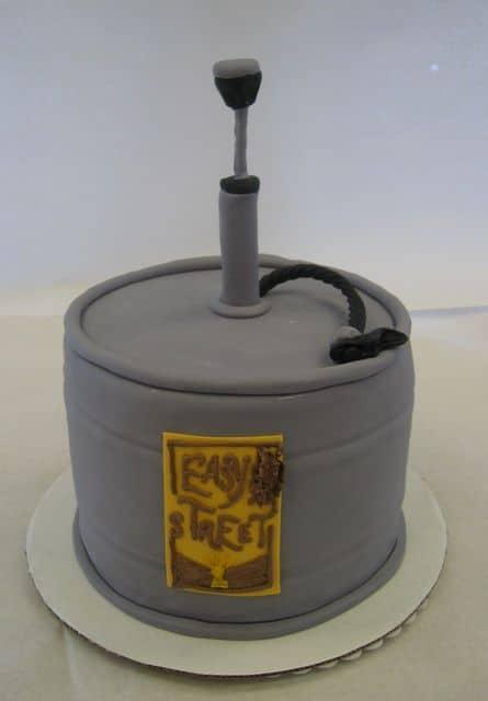 The Makery Cake Company - 21st Birthday Ceg Cake
