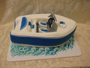 The Makery Cake Company 3D Boat Cake