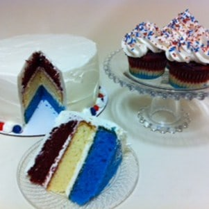 Denver 4th of July Cakes