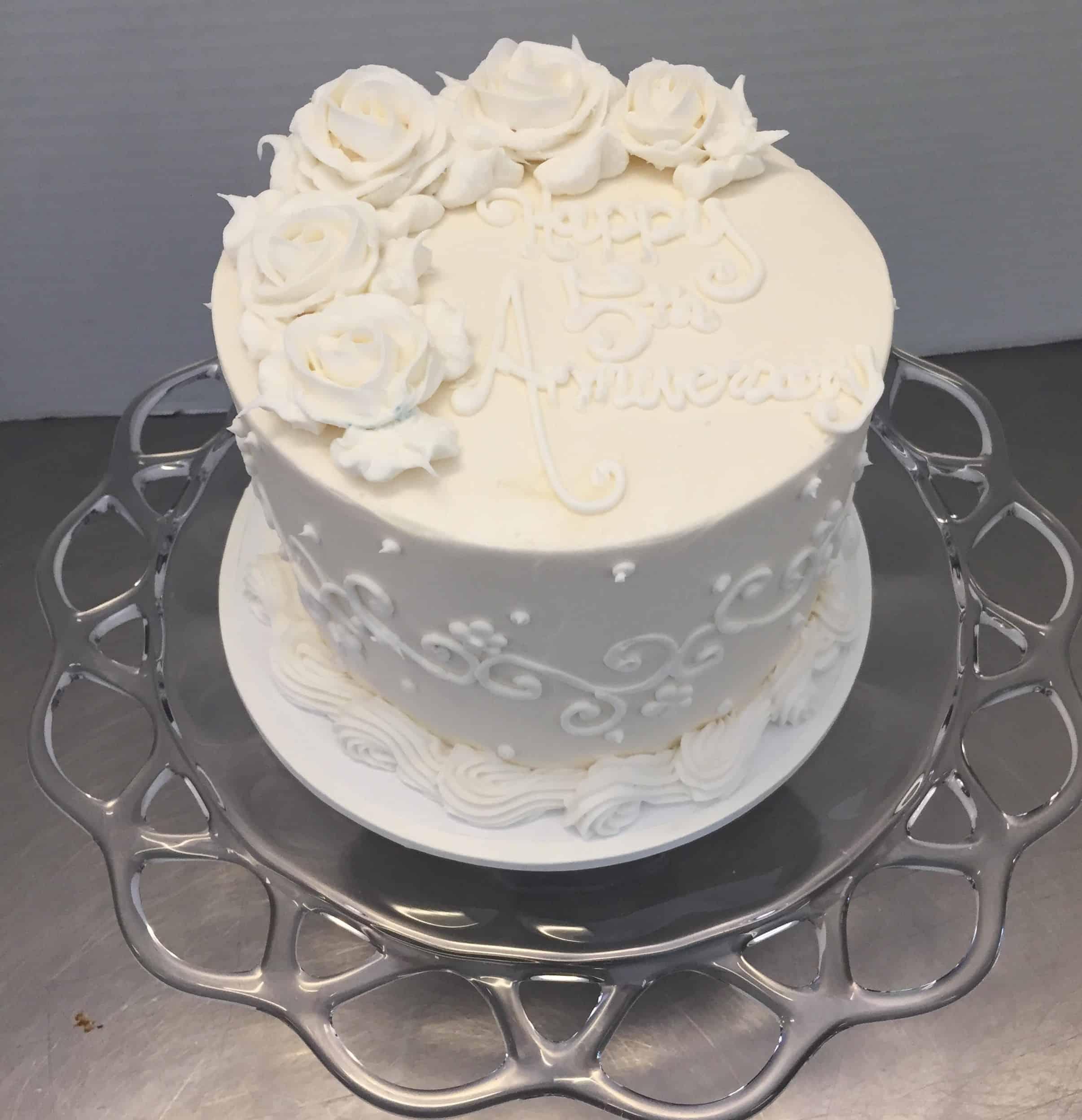 The Makery Cake Company Anniversary Cake