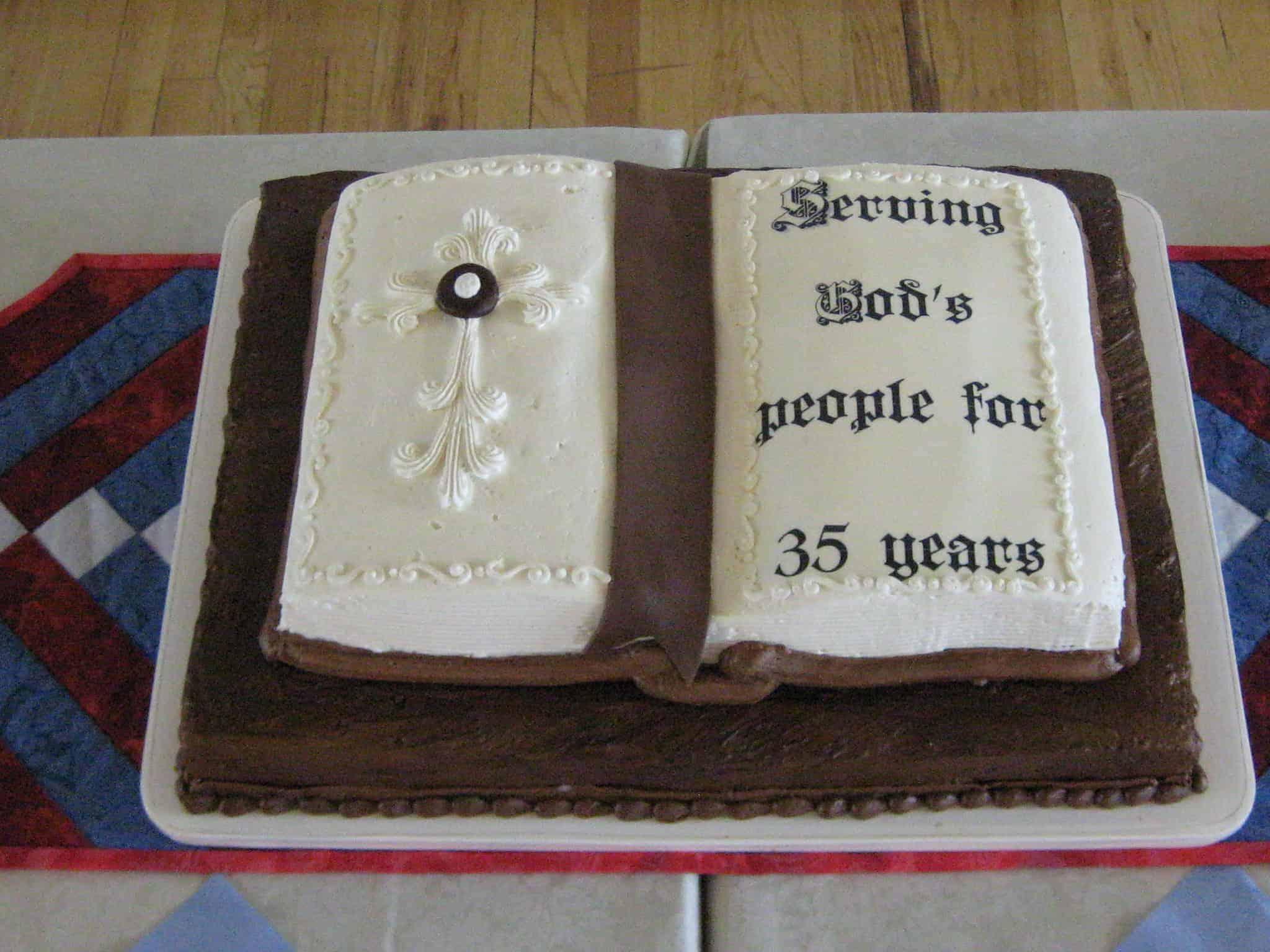 The Makery Cake Company Bible Cake