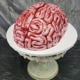 The Makery Cake Company Brain Cake