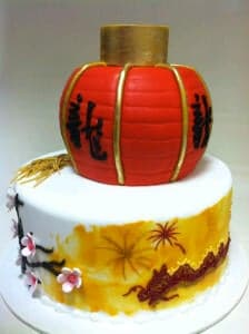 The Makery Cake Company Chinese New Year Cake