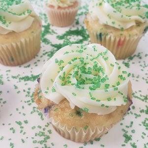 Cupcakes With Sugar Sprinkles