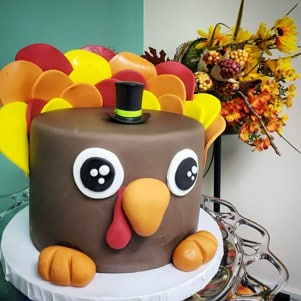 Thanksgiving Cake Denver