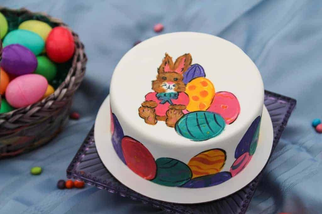 The Makery Cake Company Easter Bunny Cake