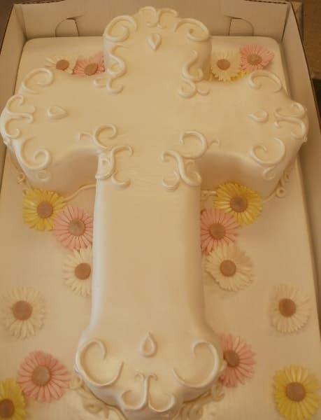 The Makery Cake Company Cross Cake