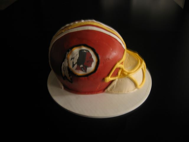 The Makery Cake Company Football Helmet Cake