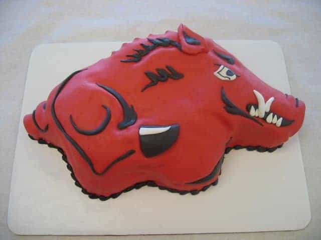 The Makery Cake Company Football Logo Cake
