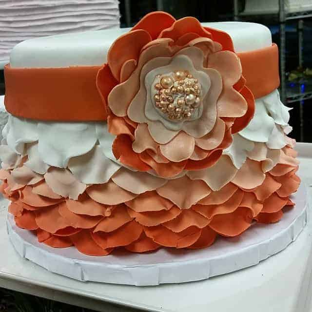 The Makery Cake Company Bridal Shower Cake