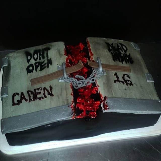 The Makery Cake Company Book Cake